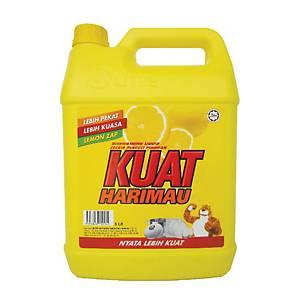 Kuat Harimau Dishwash Detergent 5l Lemon