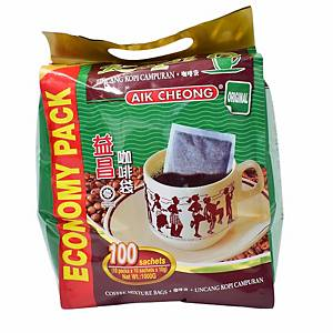 Aik Cheong Kopi-O - Pack of 100 x 10G