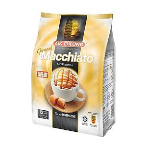 Aik Cheong 3 in 1 Caramel Macchiato - Pack of 12 x 25g