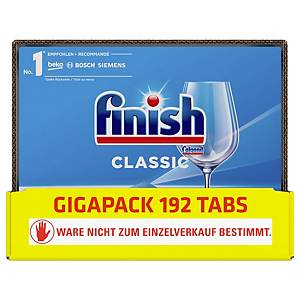 Geschirrspühltabs Finish Classic, 6x32 Tabs, GIGAPACK