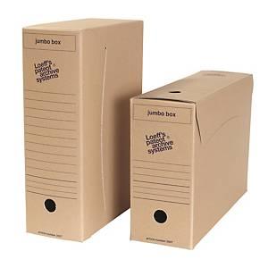 Loeff s Patent Jumbobox archiefdoos, folio, karton 900 g, per 25 dozen