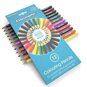 Classmaster Colouring Pencils, Pack of 12