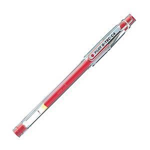 Pilot Bio-Polymer Ink Point Roller Ball Pen 0.4mm Line Width Red