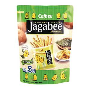 Calbee Jagabee seaweed Potato Fries 18g - Pack of 5