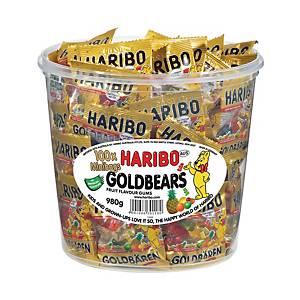 HARIBO 德國金熊軟糖(迷你包袋) 980克