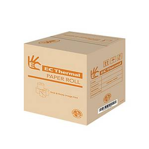 EC Thermal Paper Rolls 57x45mm- Box of 200