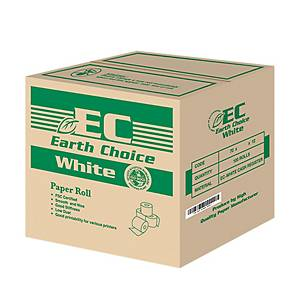 Earth Choice Paper Rolls 76x65mm- Box of 100