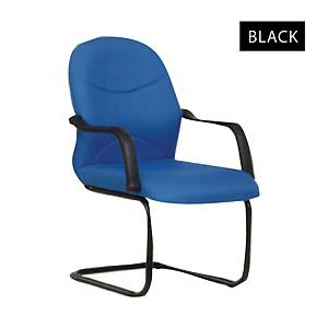 Artrich BL2003V Fabric Visitor Chair Black
