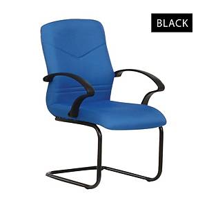 Artrich BL2103V Fabric Visitor Chair Black