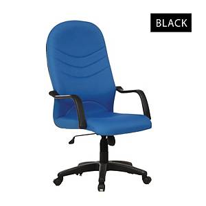 Artrich BL2000HB Fabric High Back Chair Black