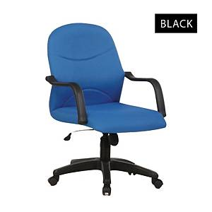 Artrich BL2002LB Fabric Low Back Chair Black