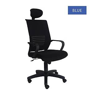 Artrich Art-811HB Mesh High Back Chair Blue