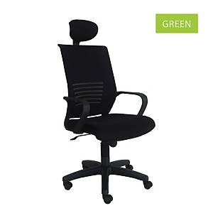 Artrich Art-811HB Mesh High Back Chair Green