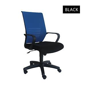 Artrich Art-911MB Mesh Medium Back Chair Black
