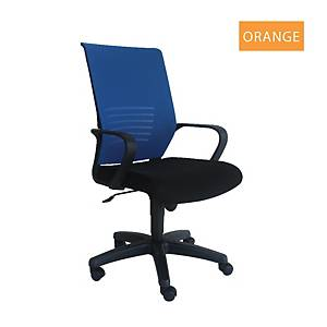 Artrich Art-911MB Mesh Medium Back Chair Orange