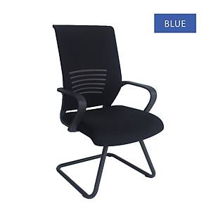 Artrich Art-911V Mesh Visitor Chair Blue