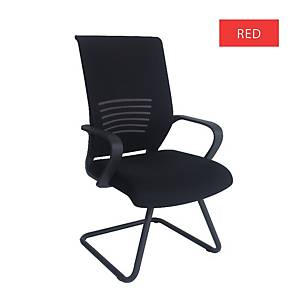 Artrich Art-911V Mesh Visitor Chair Red