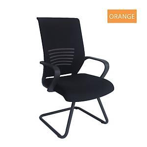 Artrich Art-911V Mesh Visitor Chair Orange