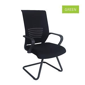 Artrich Art-911V Mesh Visitor Chair Green