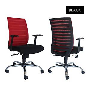 Artrich Art-904MB Mesh Medium Back Chair Black