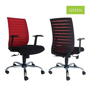Artrich Art-904MB Mesh Medium Back Chair Green