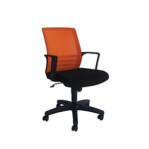 Artrich Art-917MB Mesh Medium Back Chair Orange