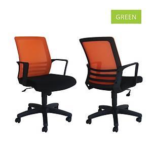 Artrich Art-917MB Mesh Medium Back Chair Green
