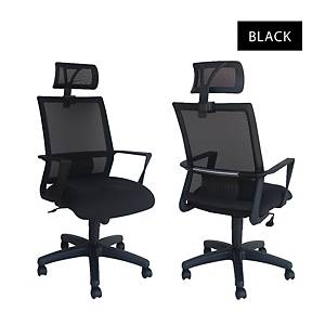 Artrich Art-840HB Mesh High Back Chair Black