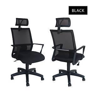 Artrich Art-840HB Mesh High Back Chair Black