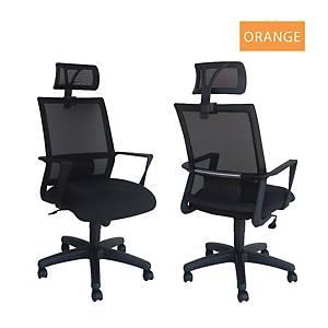 Artrich Art-840HB Mesh High Back Chair Orange