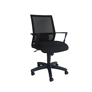 Artrich Art-940MB Mesh Medium Back Chair Black