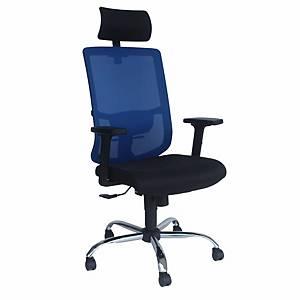Artrich Art-838HB Mesh High Back Chair Blue