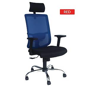 Artrich Art-838HB Mesh High Back Chair Red