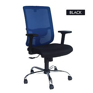 Artrich Art-938MB Mesh Medium Back Chair Black