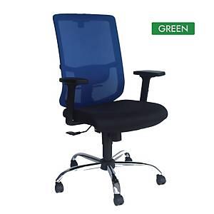 Artrich Art-838HB Mesh High Back Chair Green