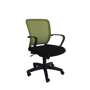 Artrich Art-916MB Mesh Medium Back Chair Green