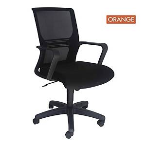 Artrich Art-933MB Mesh Medium Back Chair Orange