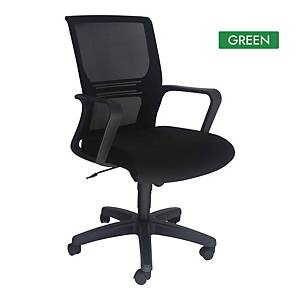 Artrich Art-933MB Mesh Medium Back Chair Green