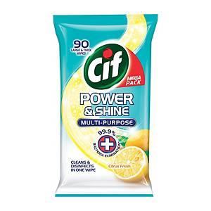 Cif Multi Purpose Wipes 90 s
