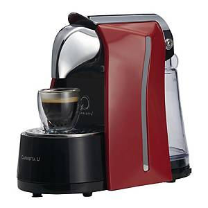 CAPRISTTA U CAPSULE COFFEE MACHINE SILVER