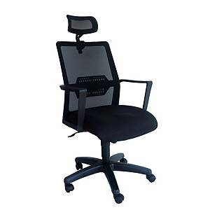 Artrich Art-839HB Mesh High Back Chair Black