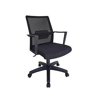 Artrich Art-939MB Mesh Medium Back Chair Black