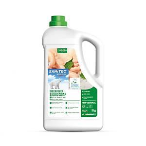 Sanitec Green Power flüssige Seife für Körper, Haar und Hände 5 kg