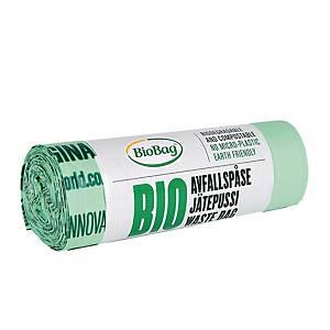 BioBag roskapussi 500x520x0.018 30L, 1 kpl=20 pussia