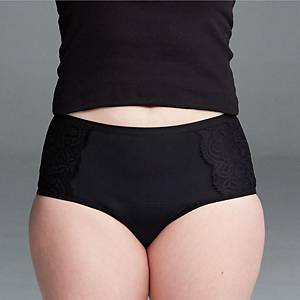 PERIOD PANTS H/W HIGH ABSORBENCY MED BLK