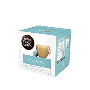 Nescafe Dolce Gusto Flat White Capsule - Box of 16