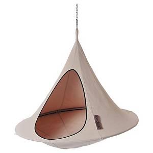 Tente suspendue Cacoon Olefin - 1 place - Ø 1,5 m - beige