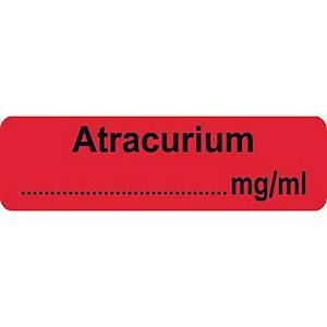 Syringe Label - Atracurium