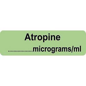 Syringe Label - Atropine