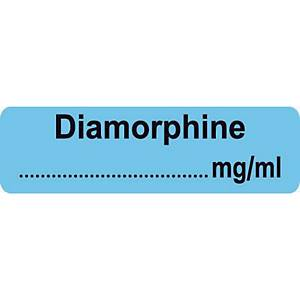 Syringe Label - Diamorphine